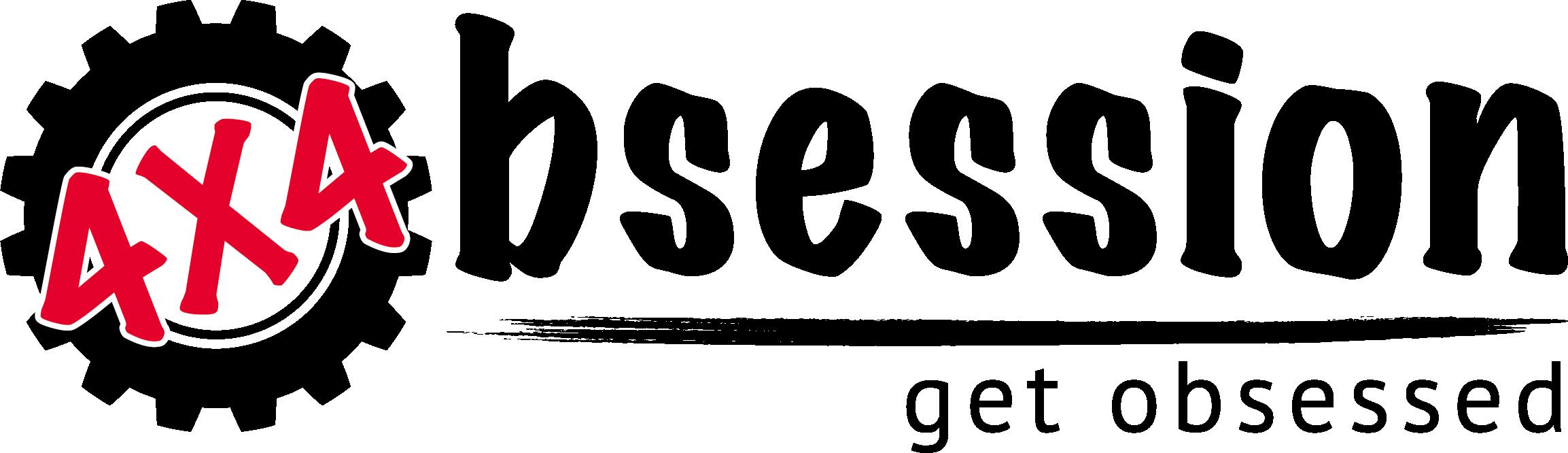 4x4 Obsession Logo White