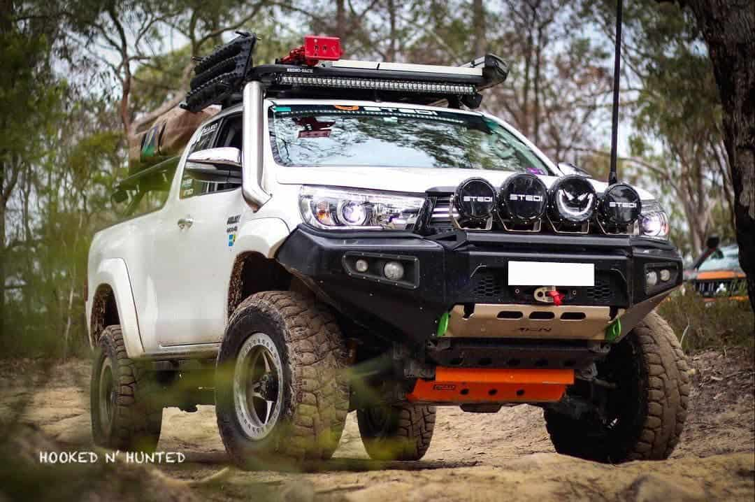4x4 Specialists Melbourne take White 4WD off road in Grampians National Park