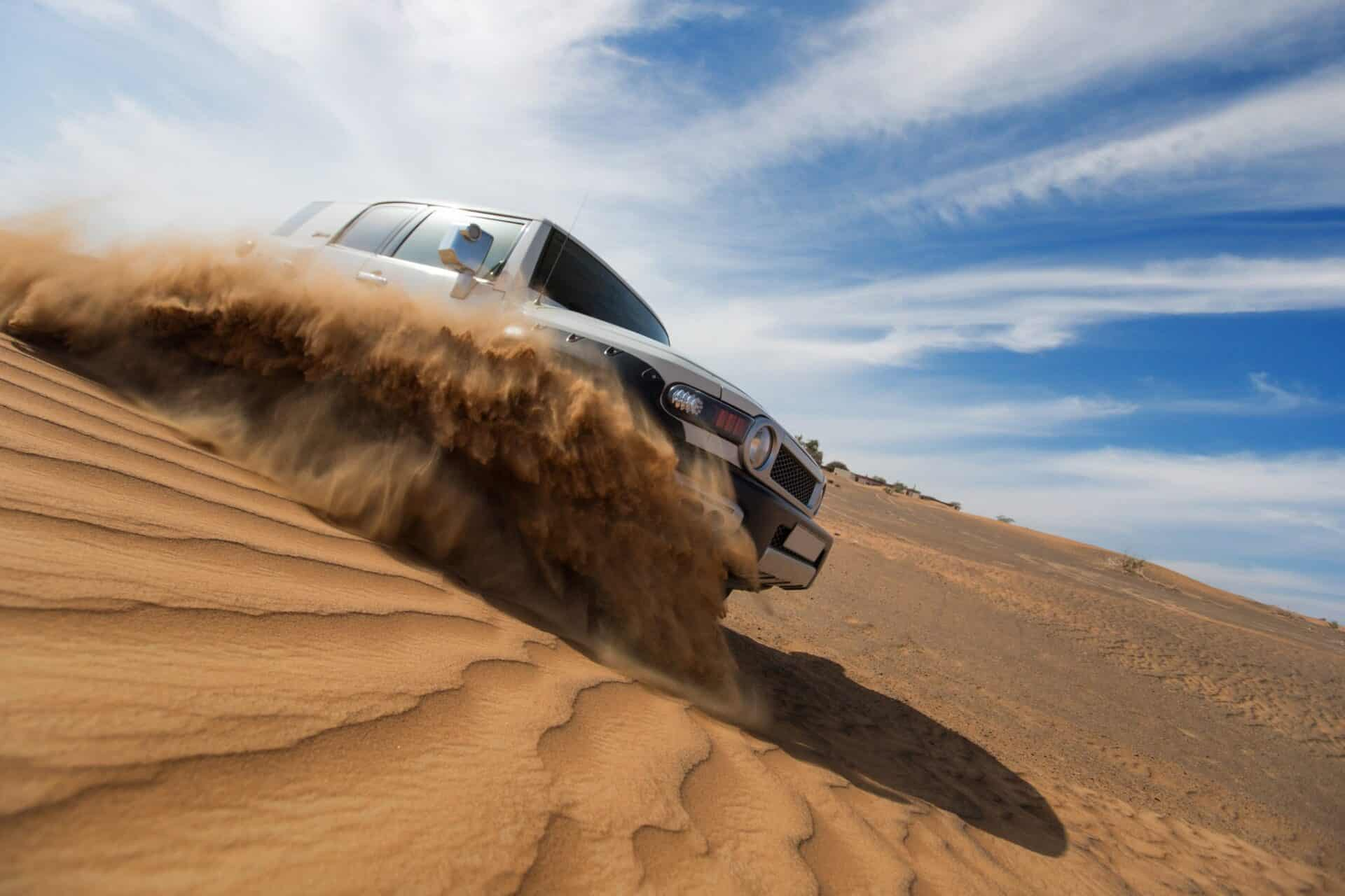 4WD Landcruiser, offroad adventure in desert   4WD Performance modifications by 4x4 Obsession